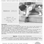 Enfoque Pedagógico de Emmi Pikler en Zaragoza, 28-29 de Marzo