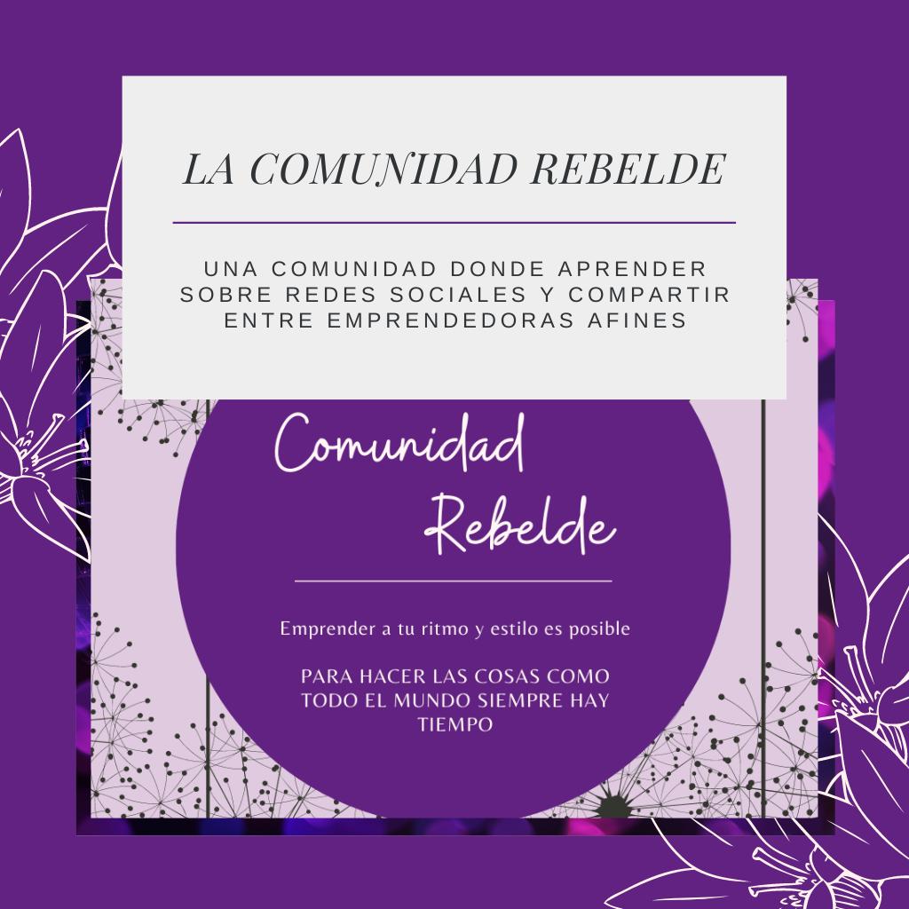 COMUNIDAD DE EMPRENDEDORAS EN VIOLETA